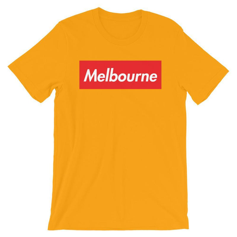 Repparel Melbourne Gold / S Hypebeast Streetwear Eco-Friendly Full Cotton T-Shirt