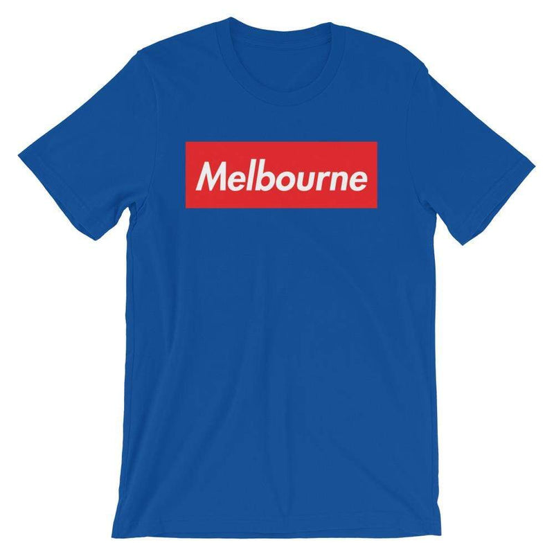 Repparel Melbourne True Royal / S Hypebeast Streetwear Eco-Friendly Full Cotton T-Shirt