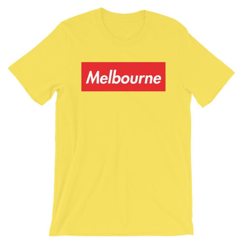 Repparel Melbourne Yellow / S Hypebeast Streetwear Eco-Friendly Full Cotton T-Shirt