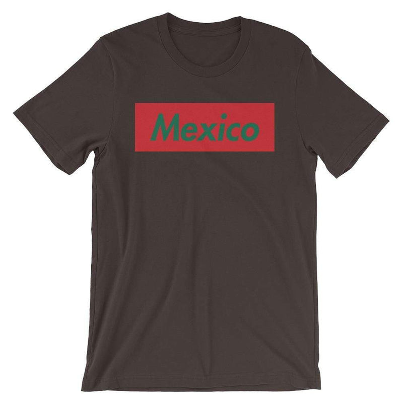 Repparel Mexico Brown / S Hypebeast Streetwear Eco-Friendly Full Cotton T-Shirt