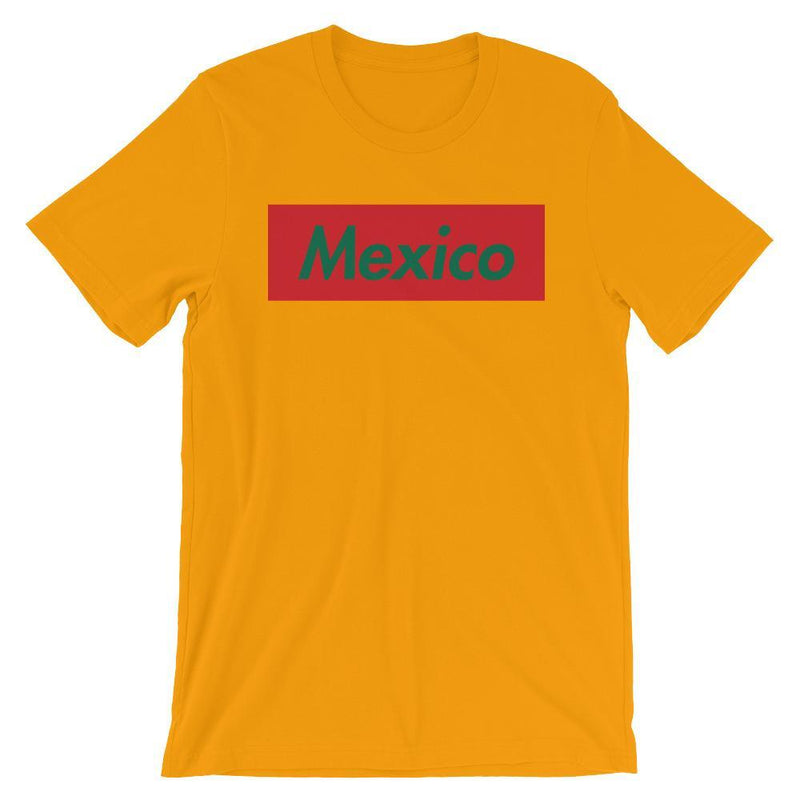 Repparel Mexico Gold / S Hypebeast Streetwear Eco-Friendly Full Cotton T-Shirt