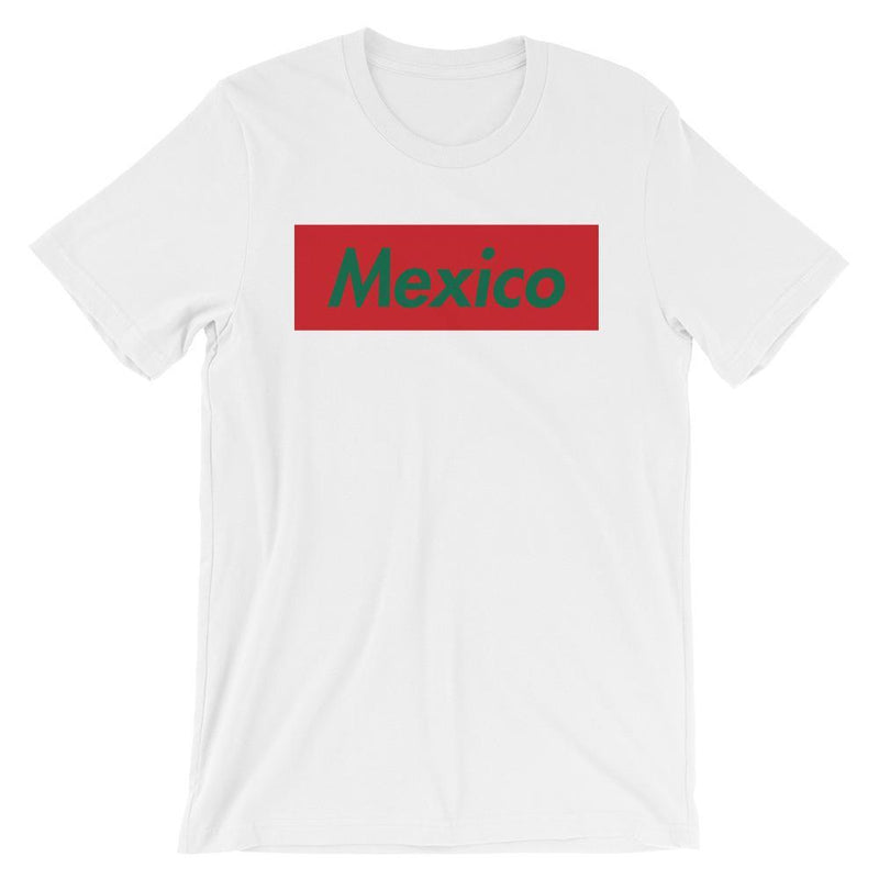 Repparel Mexico White / XS Hypebeast Streetwear Eco-Friendly Full Cotton T-Shirt