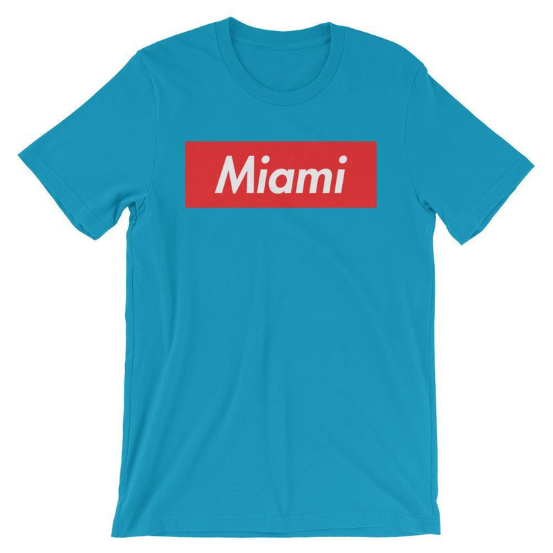Repparel Miami Aqua / S Hypebeast Streetwear Eco-Friendly Full Cotton T-Shirt