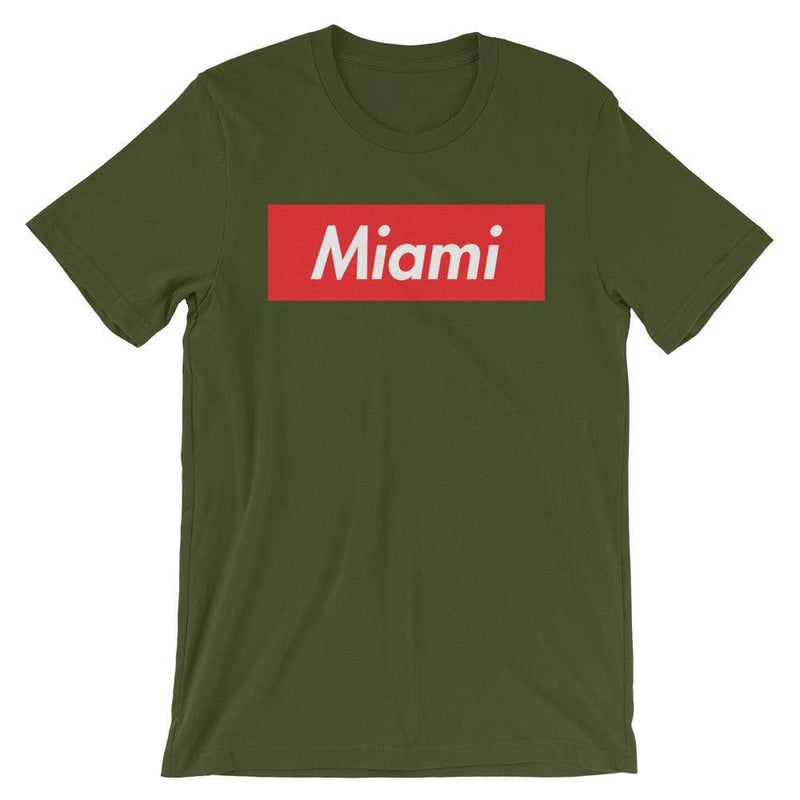 Repparel Miami Olive / S Hypebeast Streetwear Eco-Friendly Full Cotton T-Shirt