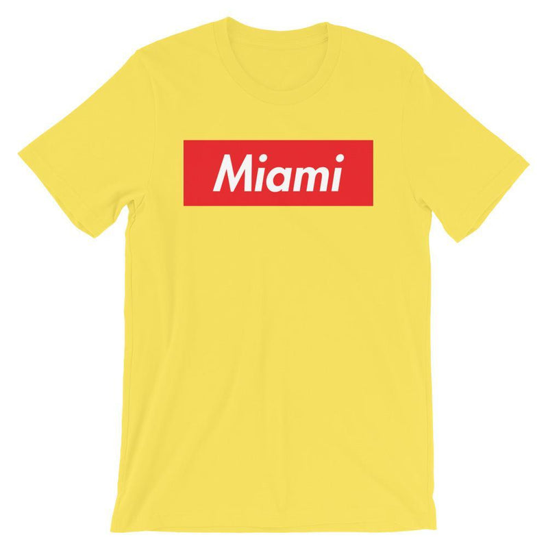 Repparel Miami Yellow / S Hypebeast Streetwear Eco-Friendly Full Cotton T-Shirt