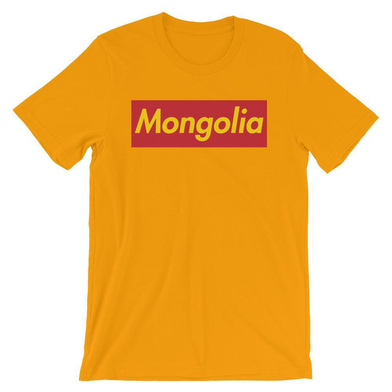 Repparel Mongolia Gold / S Hypebeast Streetwear Eco-Friendly Full Cotton T-Shirt