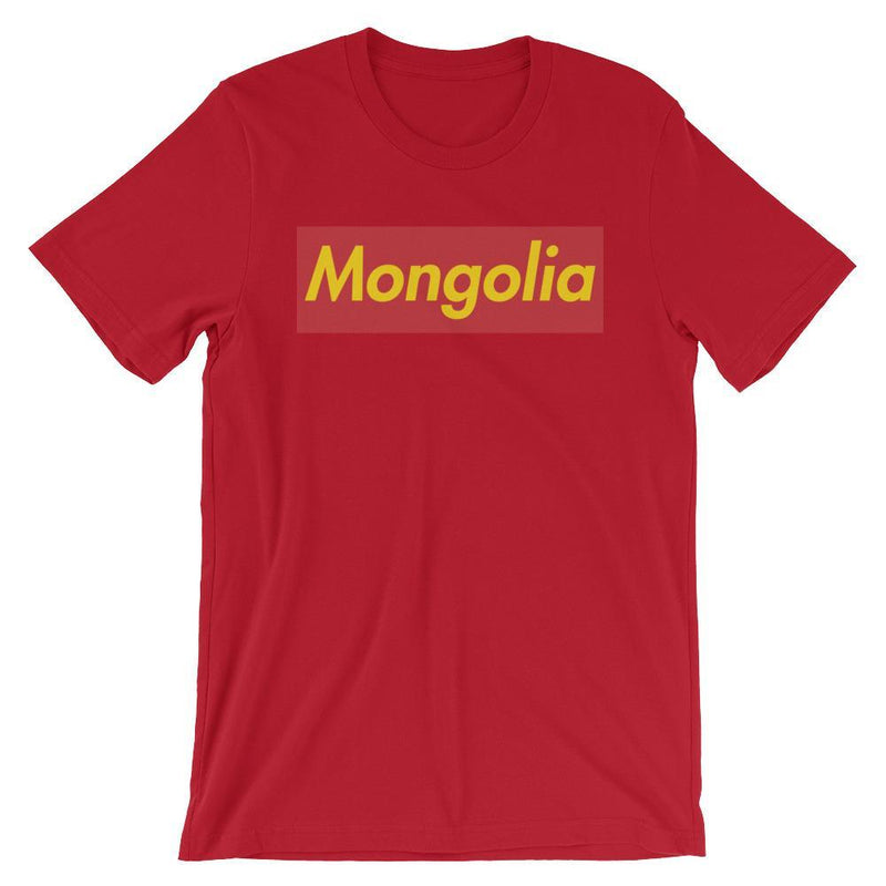 Repparel Mongolia Red / S Hypebeast Streetwear Eco-Friendly Full Cotton T-Shirt