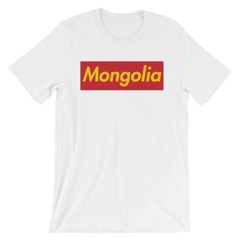 Repparel Mongolia White / XS Hypebeast Streetwear Eco-Friendly Full Cotton T-Shirt