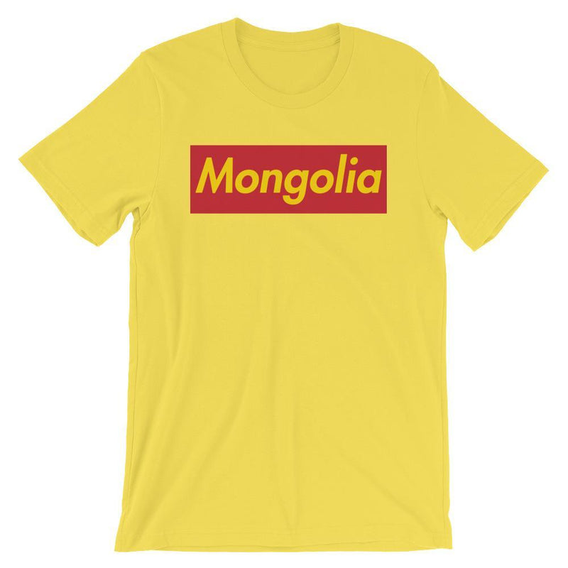 Repparel Mongolia Yellow / S Hypebeast Streetwear Eco-Friendly Full Cotton T-Shirt