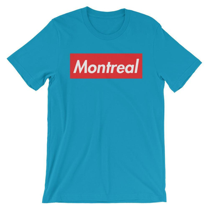 Repparel Montreal Aqua / S Hypebeast Streetwear Eco-Friendly Full Cotton T-Shirt