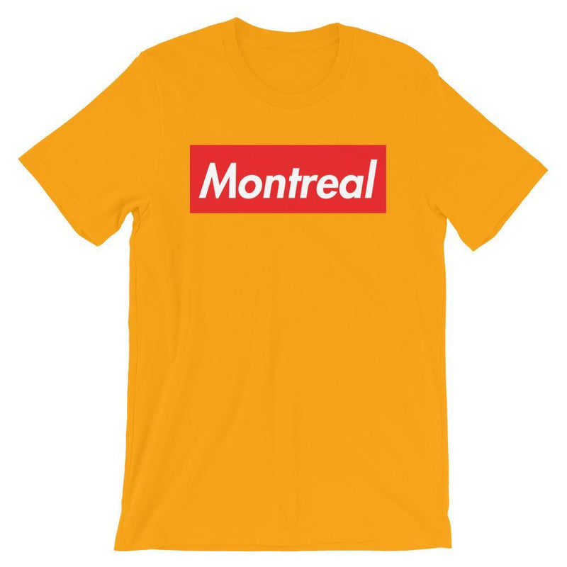 Repparel Montreal Gold / S Hypebeast Streetwear Eco-Friendly Full Cotton T-Shirt