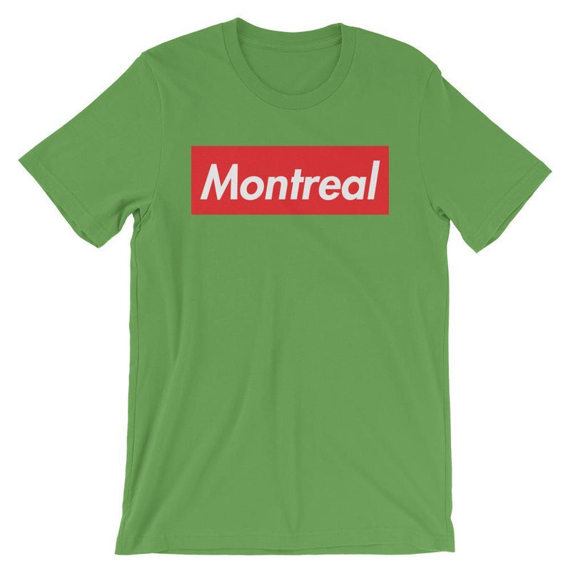 Repparel Montreal Leaf / S Hypebeast Streetwear Eco-Friendly Full Cotton T-Shirt