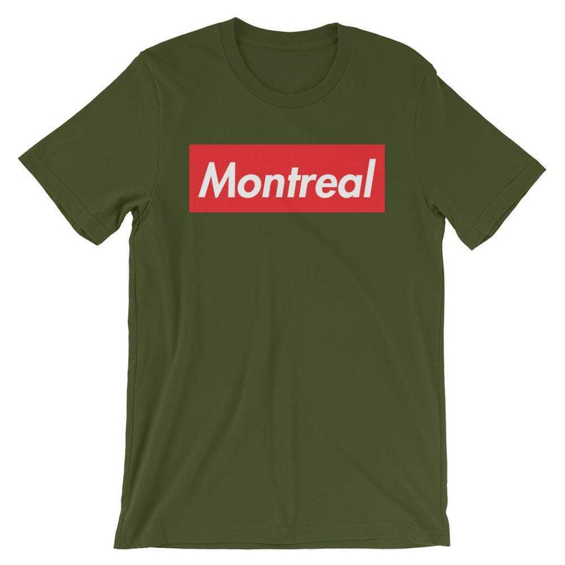 Repparel Montreal Olive / S Hypebeast Streetwear Eco-Friendly Full Cotton T-Shirt