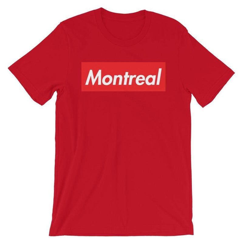 Repparel Montreal Red / S Hypebeast Streetwear Eco-Friendly Full Cotton T-Shirt