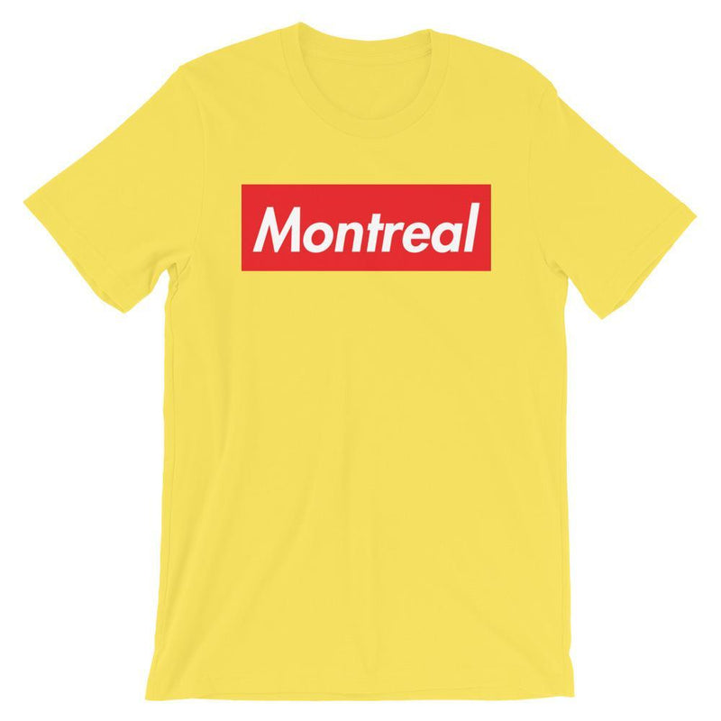 Repparel Montreal Yellow / S Hypebeast Streetwear Eco-Friendly Full Cotton T-Shirt