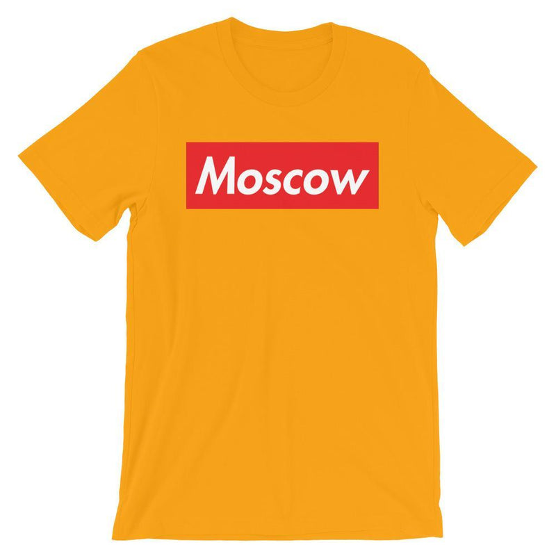 Repparel Moscow Gold / S Hypebeast Streetwear Eco-Friendly Full Cotton T-Shirt