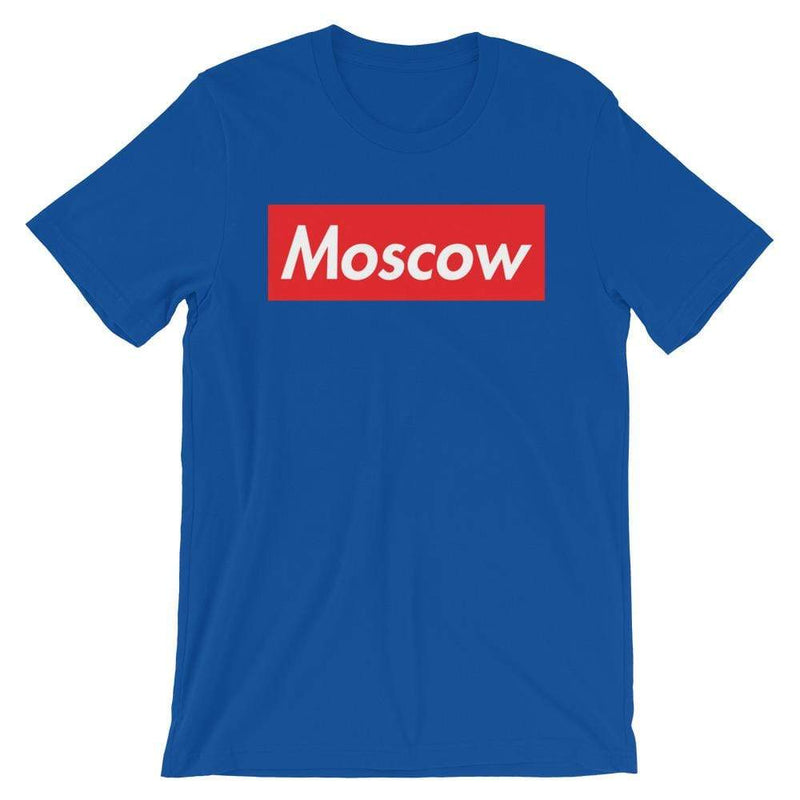 Repparel Moscow True Royal / S Hypebeast Streetwear Eco-Friendly Full Cotton T-Shirt