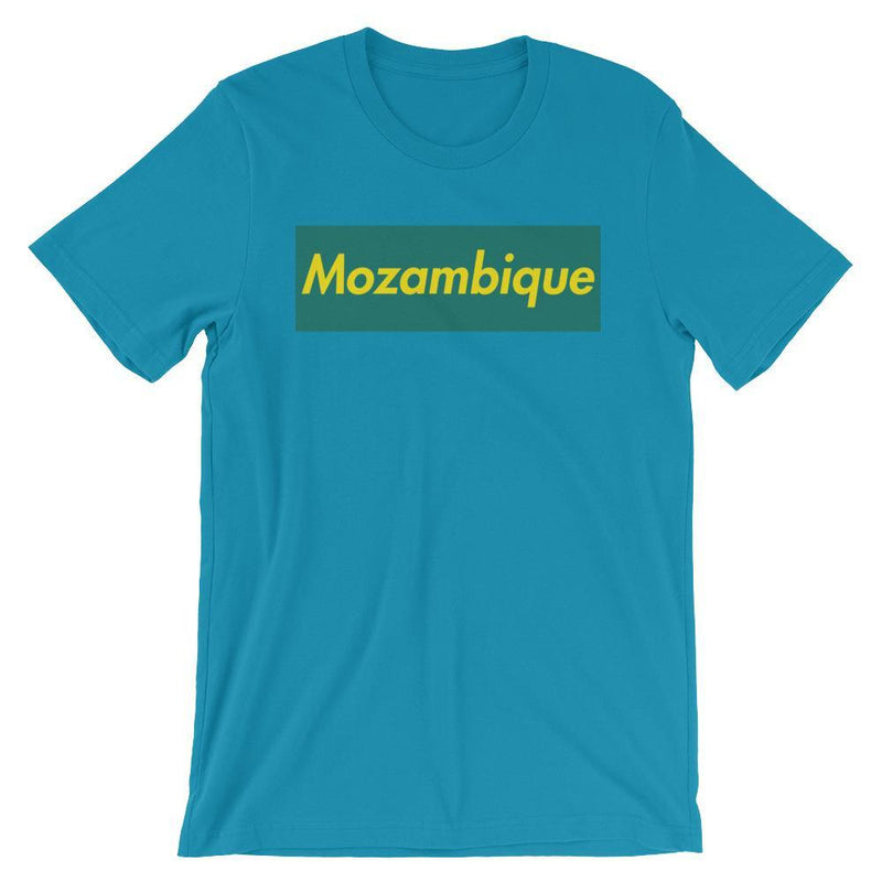 Repparel Mozambique Aqua / S Hypebeast Streetwear Eco-Friendly Full Cotton T-Shirt