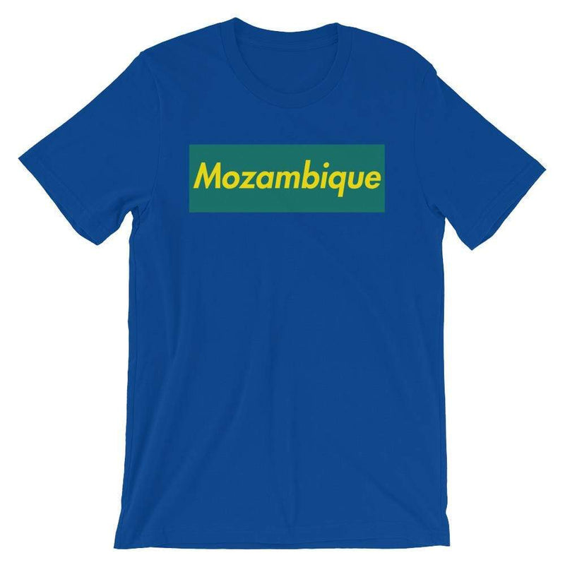 Repparel Mozambique True Royal / S Hypebeast Streetwear Eco-Friendly Full Cotton T-Shirt