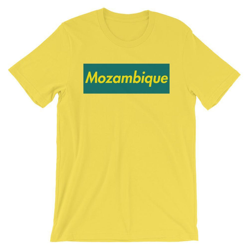 Repparel Mozambique Yellow / S Hypebeast Streetwear Eco-Friendly Full Cotton T-Shirt