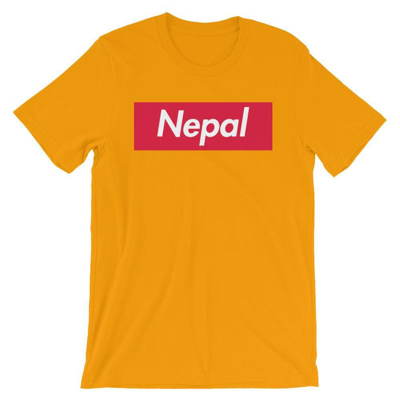 Repparel Nepal Gold / S Hypebeast Streetwear Eco-Friendly Full Cotton T-Shirt