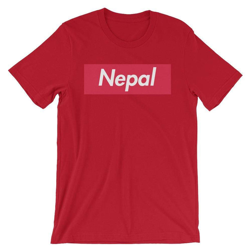 Repparel Nepal Red / S Hypebeast Streetwear Eco-Friendly Full Cotton T-Shirt