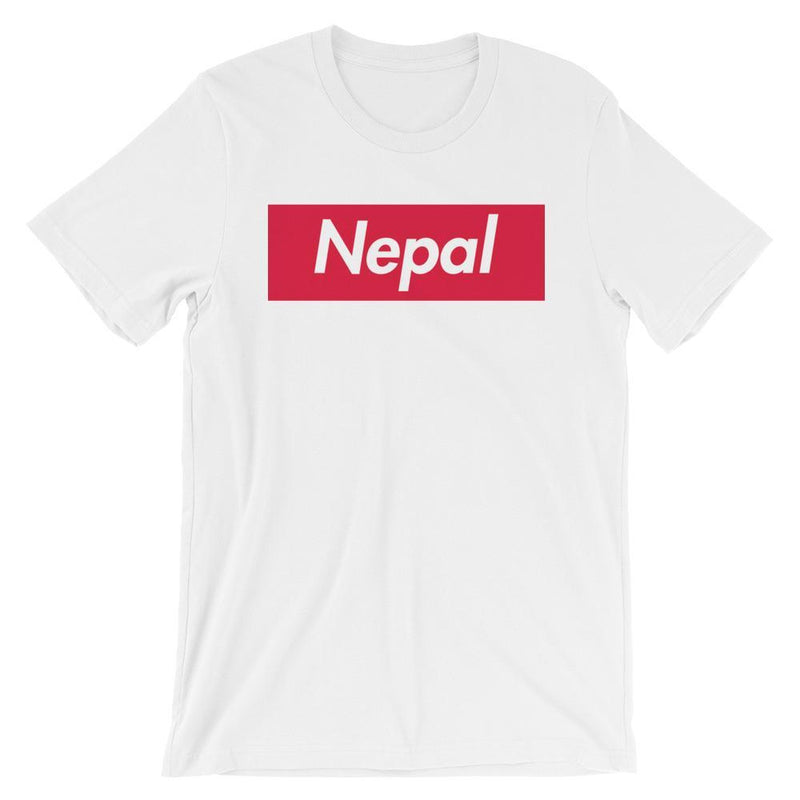 Repparel Nepal White / XS Hypebeast Streetwear Eco-Friendly Full Cotton T-Shirt