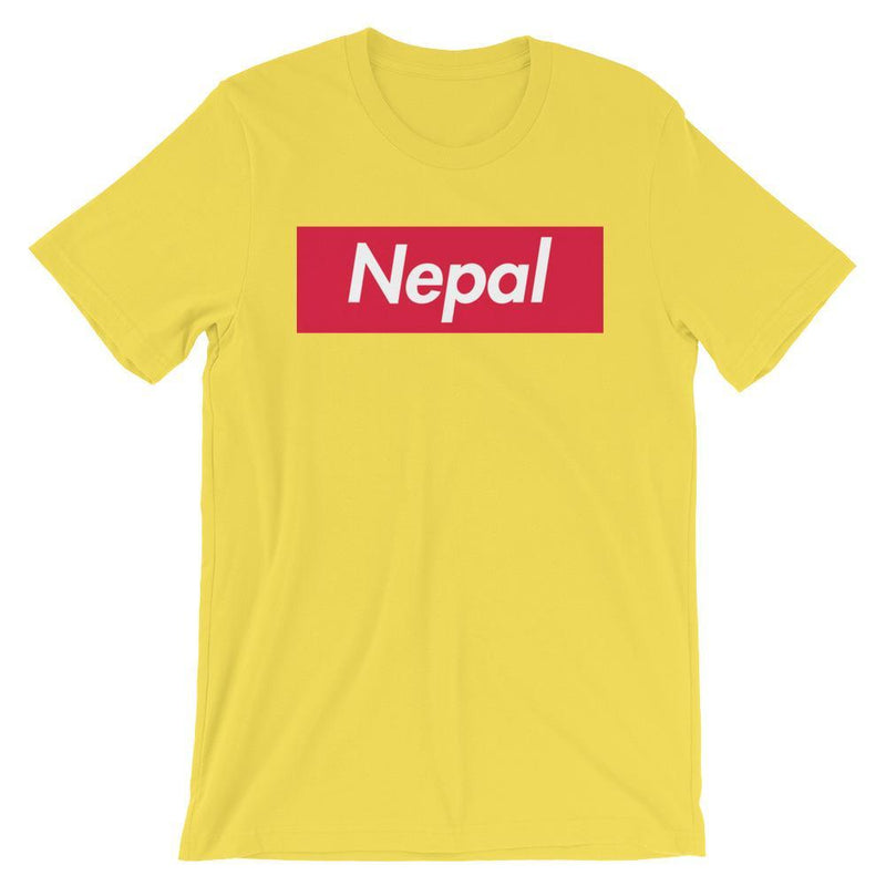 Repparel Nepal Yellow / S Hypebeast Streetwear Eco-Friendly Full Cotton T-Shirt