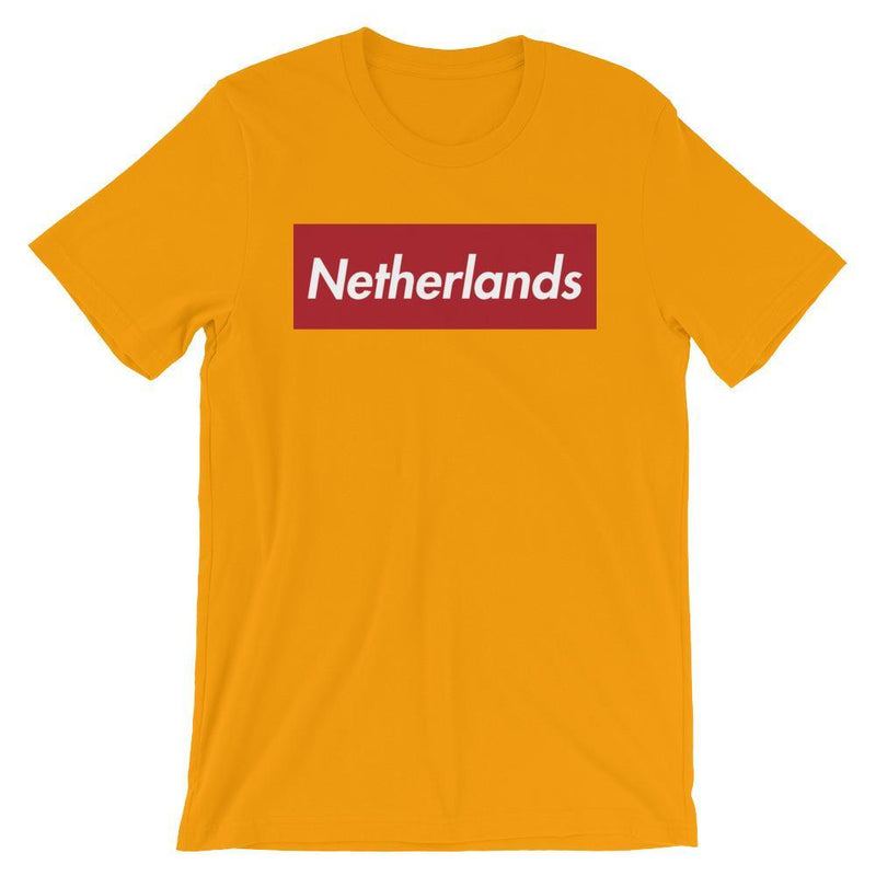 Repparel Netherlands Gold / S Hypebeast Streetwear Eco-Friendly Full Cotton T-Shirt