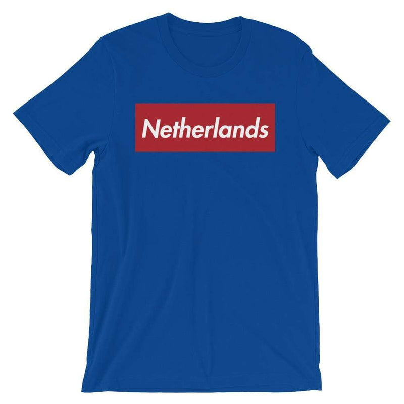 Repparel Netherlands True Royal / S Hypebeast Streetwear Eco-Friendly Full Cotton T-Shirt
