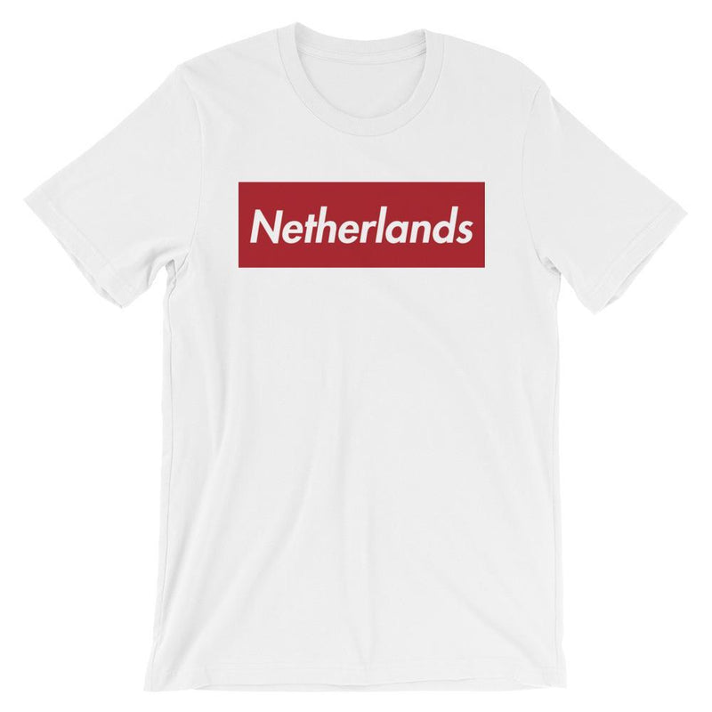 Repparel Netherlands White / XS Hypebeast Streetwear Eco-Friendly Full Cotton T-Shirt