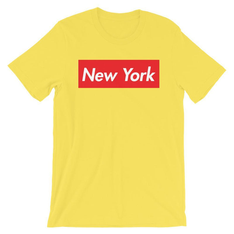 Repparel New York Yellow / S Hypebeast Streetwear Eco-Friendly Full Cotton T-Shirt