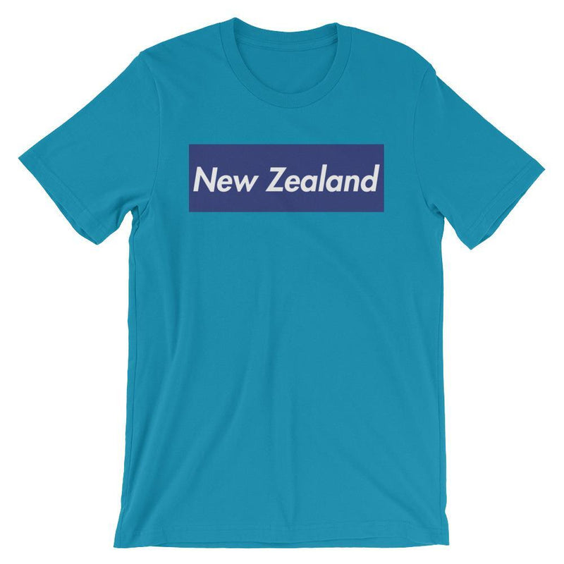 Repparel New Zealand Aqua / S Hypebeast Streetwear Eco-Friendly Full Cotton T-Shirt