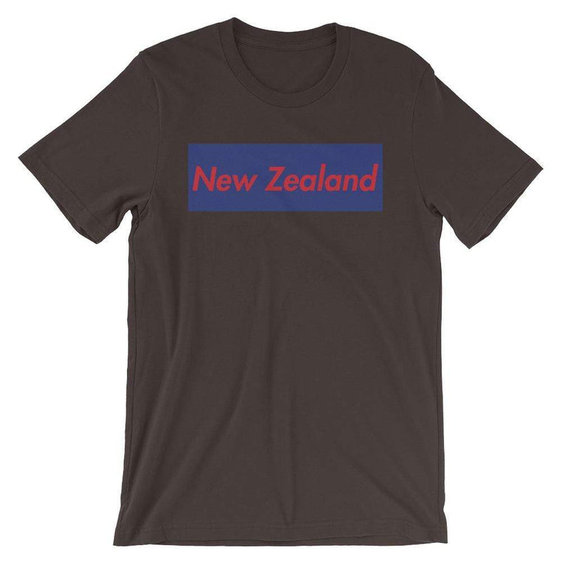 Repparel New Zealand Brown / S Hypebeast Streetwear Eco-Friendly Full Cotton T-Shirt