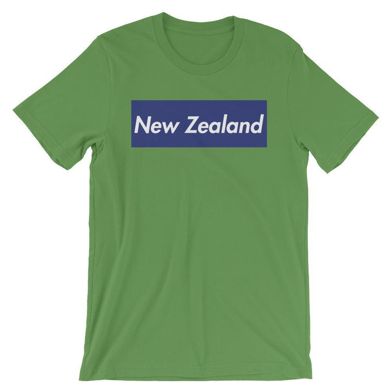 Repparel New Zealand Leaf / S Hypebeast Streetwear Eco-Friendly Full Cotton T-Shirt