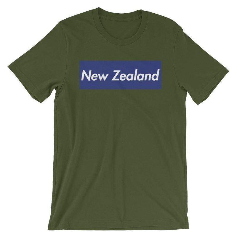 Repparel New Zealand Olive / S Hypebeast Streetwear Eco-Friendly Full Cotton T-Shirt