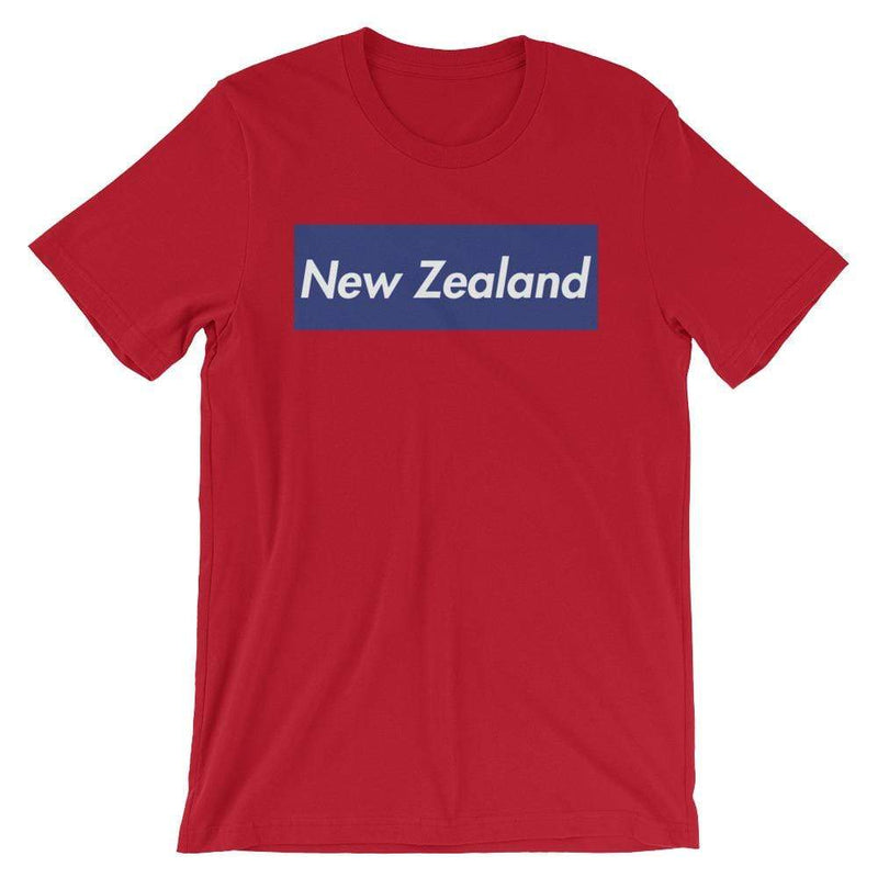Repparel New Zealand Red / S Hypebeast Streetwear Eco-Friendly Full Cotton T-Shirt