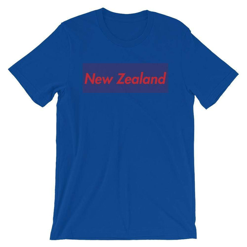 Repparel New Zealand True Royal / S Hypebeast Streetwear Eco-Friendly Full Cotton T-Shirt