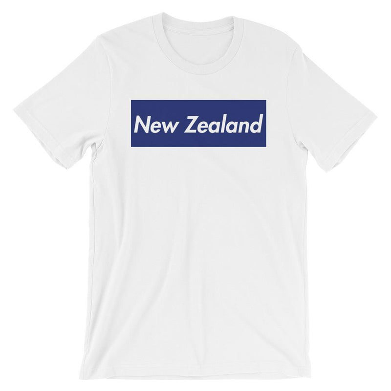 Repparel New Zealand White / XS Hypebeast Streetwear Eco-Friendly Full Cotton T-Shirt