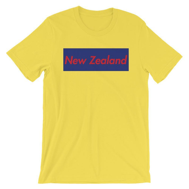Repparel New Zealand Yellow / S Hypebeast Streetwear Eco-Friendly Full Cotton T-Shirt