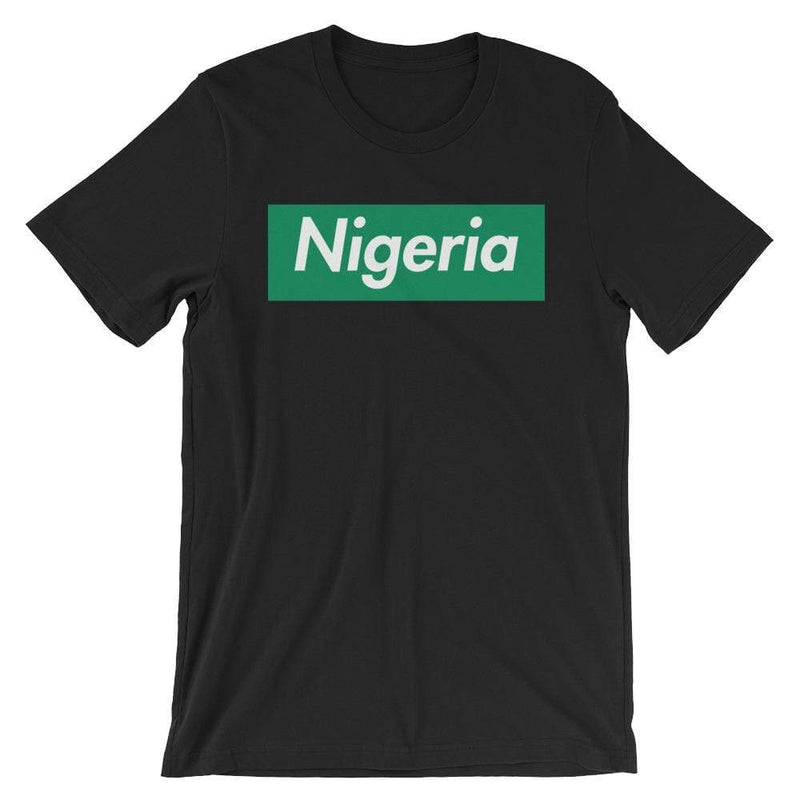 Repparel Nigeria Black / XS Hypebeast Streetwear Eco-Friendly Full Cotton T-Shirt