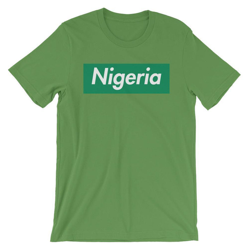 Repparel Nigeria Leaf / S Hypebeast Streetwear Eco-Friendly Full Cotton T-Shirt