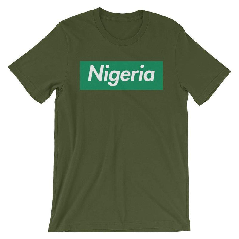 Repparel Nigeria Olive / S Hypebeast Streetwear Eco-Friendly Full Cotton T-Shirt