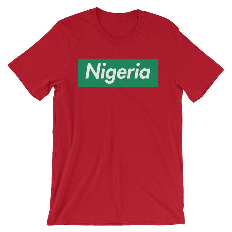 Repparel Nigeria Red / S Hypebeast Streetwear Eco-Friendly Full Cotton T-Shirt