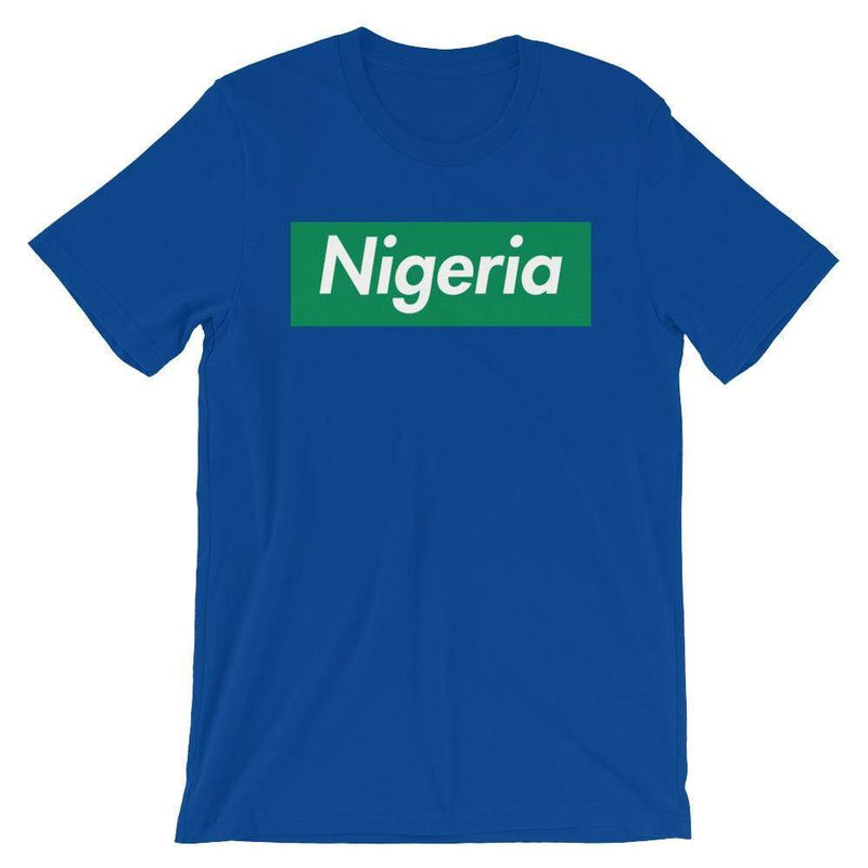 Repparel Nigeria True Royal / S Hypebeast Streetwear Eco-Friendly Full Cotton T-Shirt