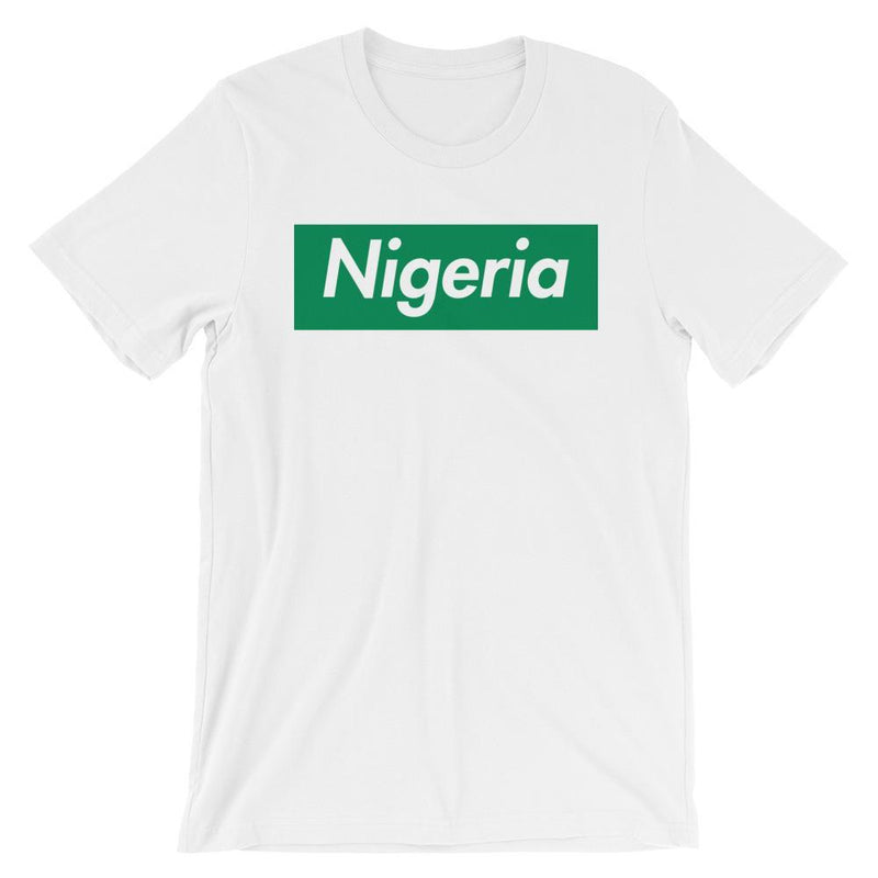 Repparel Nigeria White / XS Hypebeast Streetwear Eco-Friendly Full Cotton T-Shirt