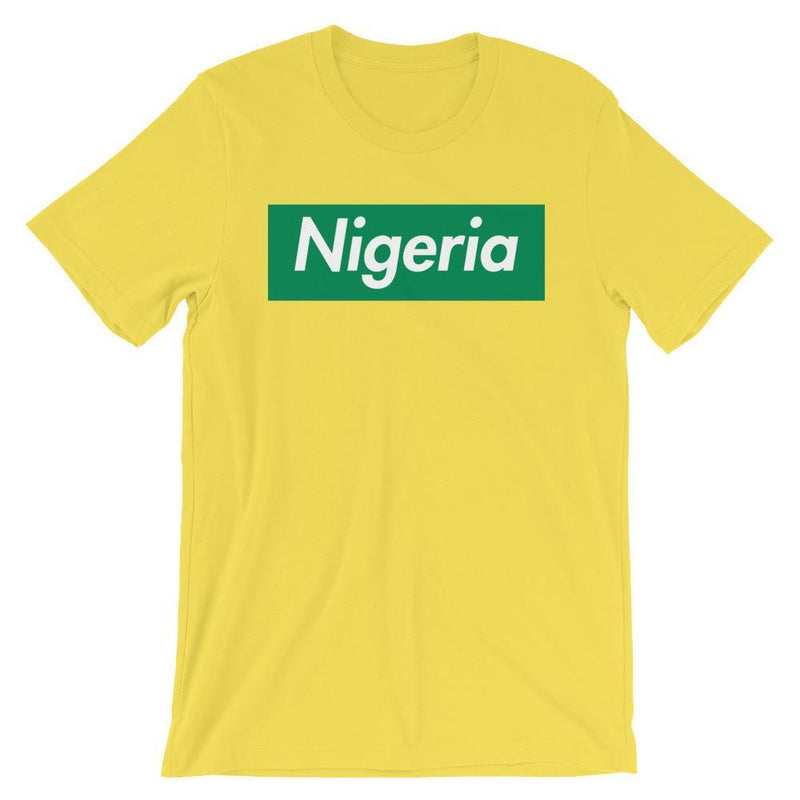 Repparel Nigeria Yellow / S Hypebeast Streetwear Eco-Friendly Full Cotton T-Shirt