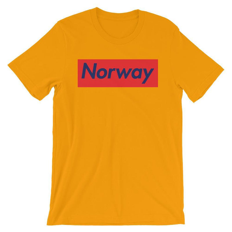 Repparel Norway Gold / S Hypebeast Streetwear Eco-Friendly Full Cotton T-Shirt