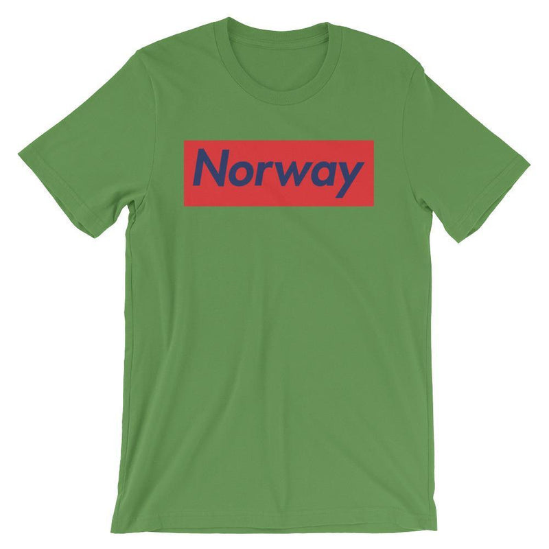 Repparel Norway Leaf / S Hypebeast Streetwear Eco-Friendly Full Cotton T-Shirt