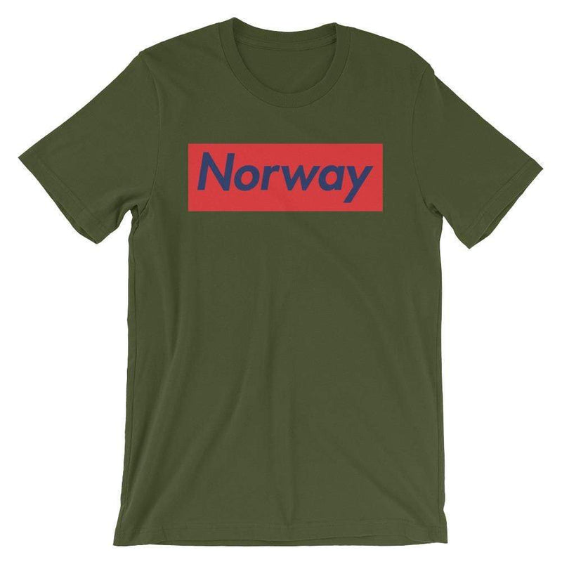 Repparel Norway Olive / S Hypebeast Streetwear Eco-Friendly Full Cotton T-Shirt